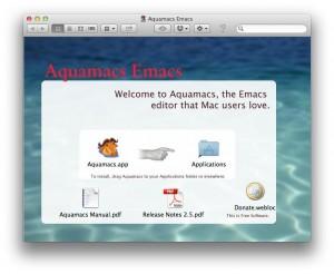 Aquamacs Emacs Installieren